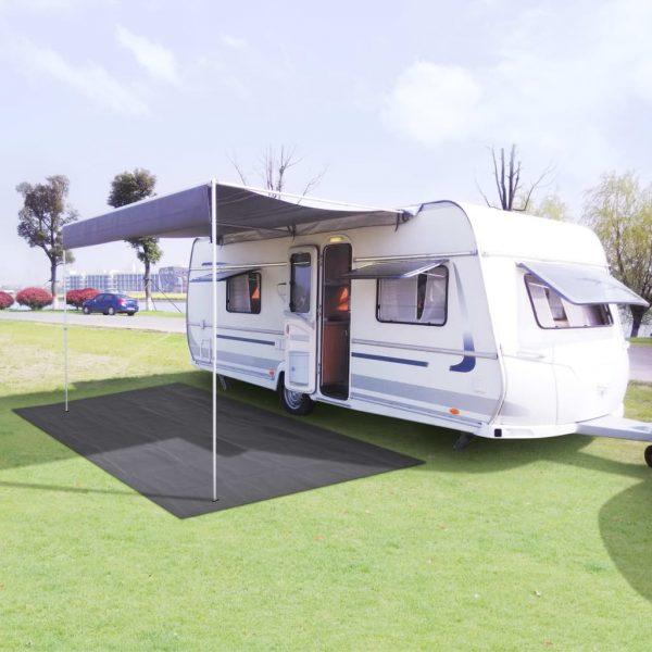 Tent Carpet 300x500 cm Anthracite