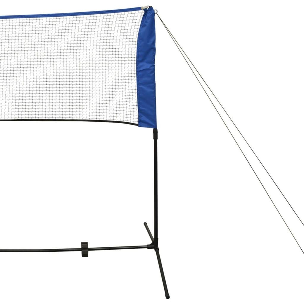 Badminton Net Set with Shuttlecocks 500x155 cm