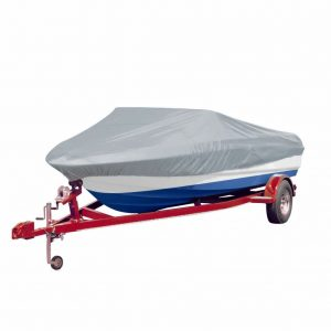 Boat Cover Grey Length 519-580 cm Width 244 cm