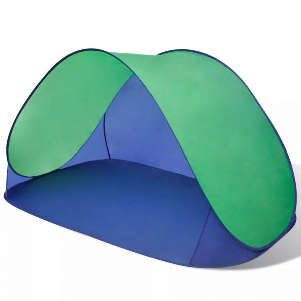 Beach Tent Outdoor Foldable Water Proof Sun Shade Green