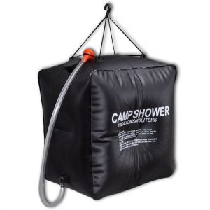 Camp Shower Solar Shower Outdoor Bath 40 L