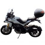 Motorbike Top Case 72 L for 2 Helmet