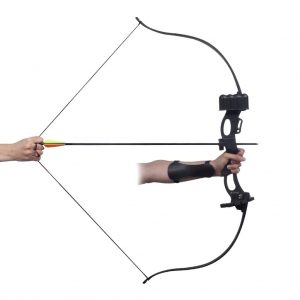 "Youth Recurve Bow with Accessories 49"" 20 lb"