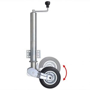 60 mm Heavy-duty Folding Jockey Wheel