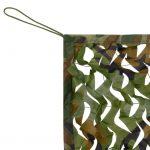 Camouflage Net with Storage Bag 4x6 m